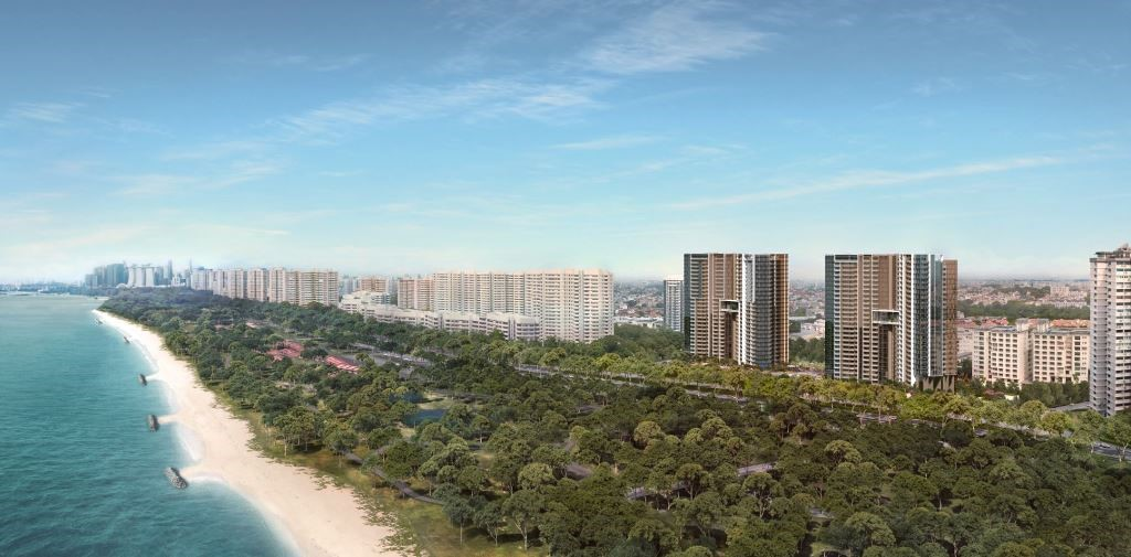 Seaside Residences By Frasers, Siglap MRT
