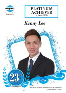 Kenny Lee Propnex Platinum Achiever