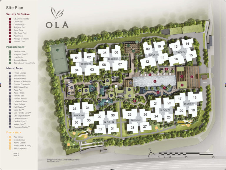 OLA EC Site Plan Map